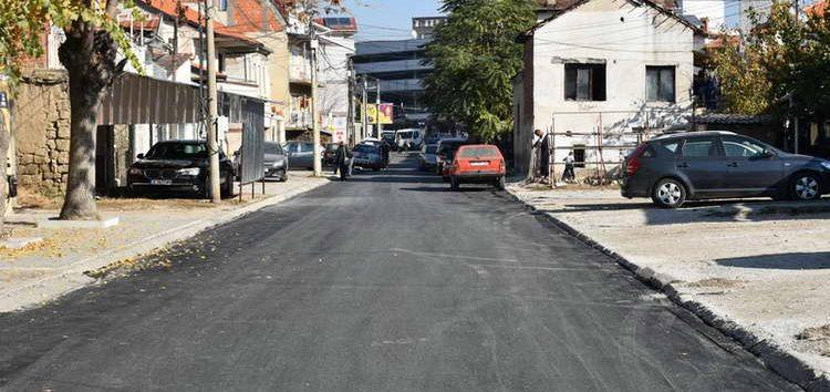"""Нов асфалт на """"Андон Слабејко"""""""