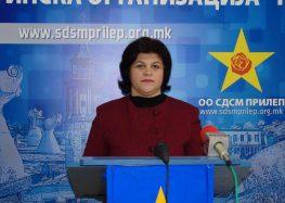 СДСМ Прилеп: Екс градоначалникот Ристески дозволил да пропаднат 100 милиони денари од ненаплатени комунални такси