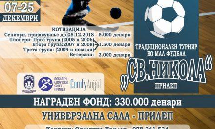 По осми пат Прилеп ќе биде домаќин на мајсторите на малиот фудбал