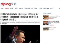 Албански медиуми: Груевски излегол од Албанија со автомобил на унгарската амбасада