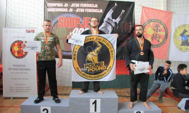 Екипата на НКБ и Pound for Pound team првопласирана на Скопје Open 2018 во Бразилска Џиуџицу