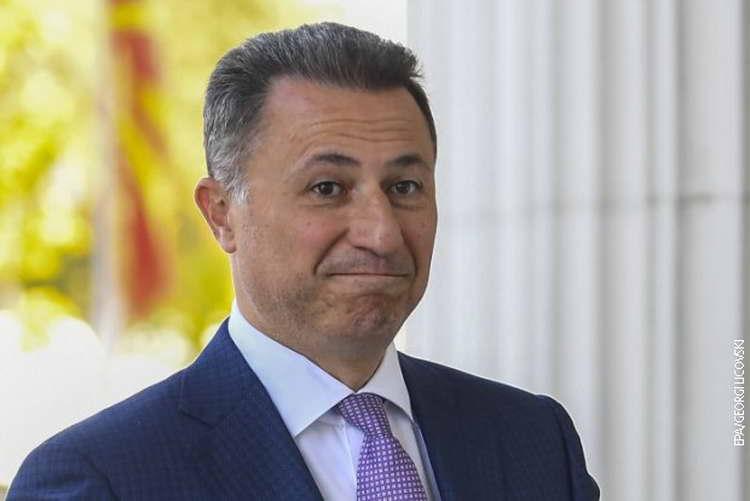 """Ако избегнува да го добие решението за одење во """"Шутка"""", по Груевски ќе биде распишана потерница"""