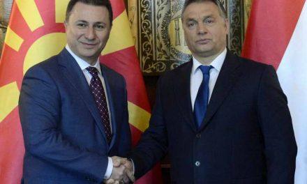Орбан: Го примивме Груевски, но не се мешаме во внатрешните работи на Македонија