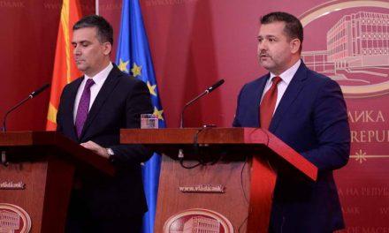 Редовна прес-конференција на портпаролите на Владата на Република Македонија, Бошњаковски и Хоџа