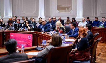 """Заев: Кога зборуваме за """"Едно општество за сите"""", зборуваме и за намалување на социјалните и економските разлики помеѓу заедниците"""