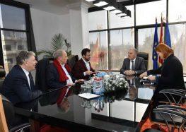 Средба на градоначалникот Јованоски со претставници на Францускиот институт и амбасадата на Швајцарија