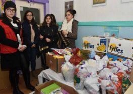 """Преку акцијата """"Подај рака-биди човек"""", помош за 11 социјално загрозени семејства од Прилеп"""