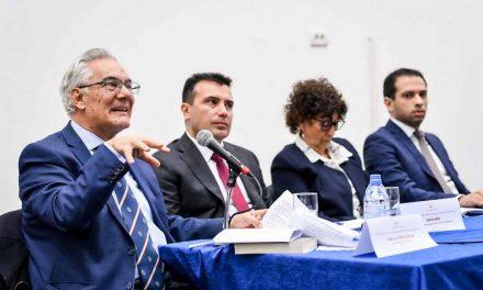 Заев на јавна дебата за уставните измени во Штип: Ќе го заокружиме процесот за иднината на земјата