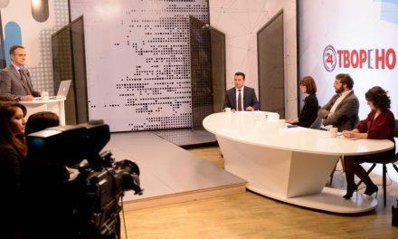 Премиерот Заев во телевизиско интервју: 2019 ќе биде економска и интеграциска година за граѓаните и за Македонија