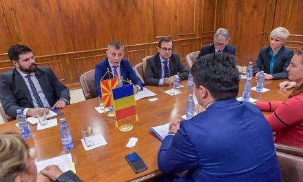 Адеми: Македонскиот јазик и Никола Мартиноски ги потврдуваат добрите културни и историски односи помеѓу Македонија и Романија