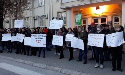 """Битола: """"Големите"""" партии се пишманеа, независните советници и граѓаните протестираа против загадувањето"""