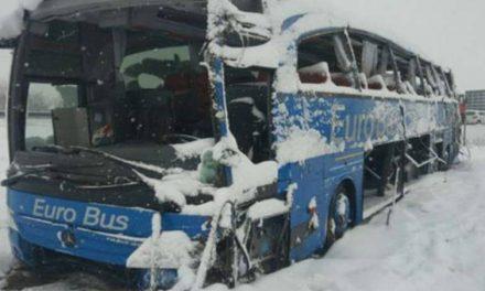 Возачот на автобусот кој се преврте кај Лесковац возел со околу 100 километри на час