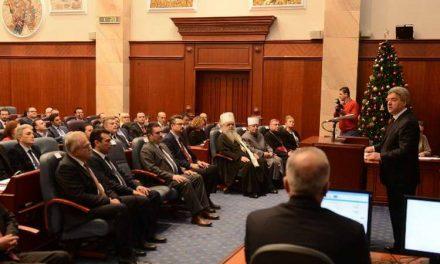 Последното годишно обраќање на Иванов во Собранието на 28 декември