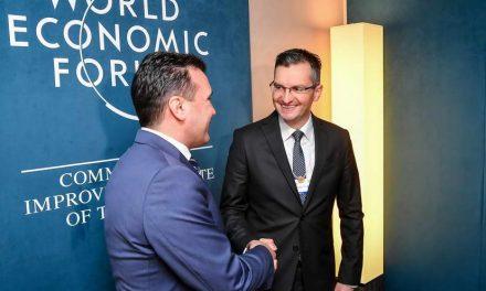 Заев и Шарец од Давос: Земјите од регионот влегуваат во ера на траен мир и поврзување за економски напредок