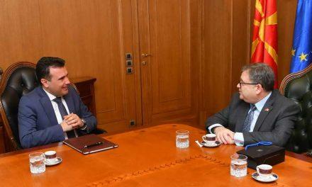 Средба Заев – Тимоние: Македонија е на добар пат, останува силната поддршка на Франција на патот до ЕУ и НАТО