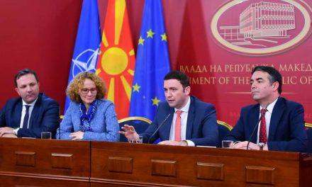 Шекеринска, Османи, Спасовски и Димитров: Договорот од Преспа стана најважната европска приказна