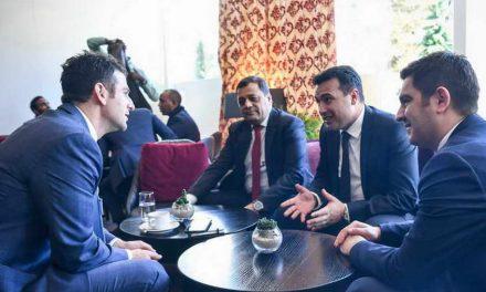 Заврши учеството на премиерот Заев и владината делегација на форумот во Давос