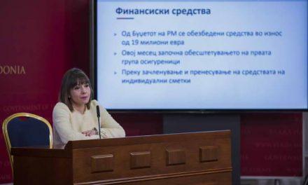 Царовска: На 12.000 идни пензионери не им се префрлале законските придонеси во вториот столб