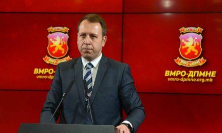 Игор Јанушев – шеф на изборниот штаб на ВМРО-ДПМНЕ за претстојните избори