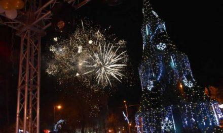 Прилеп: Новогодишна журка со најубави желби за сите граѓани