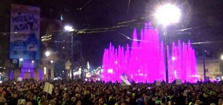 Одржан шестиот протест против Вучиќ во Србија