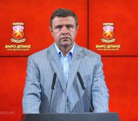 ВМРО-ДПМНЕ ги повикува институциите да го бојкотираат законот за јазиците