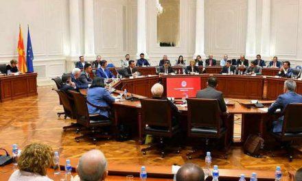 Премиерот Заев на средба со четириесет бизнисмени од Стопанската комора на Тирана