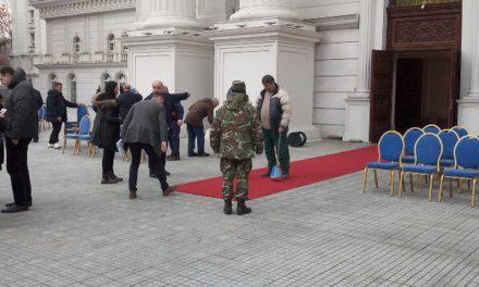 Генерална проба на Владата и АРМ пред утрешното кревање на знамето на НАТО