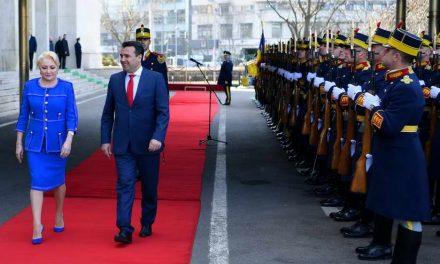 Заев во официјална посета на Романија: 11 години по Букурешт, Северна Македонија гради иднина