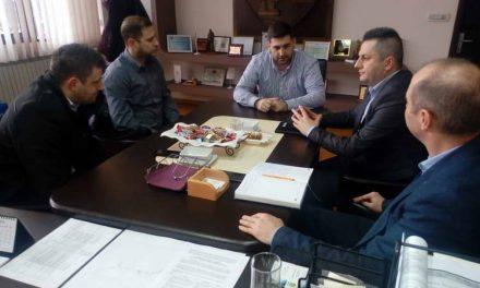 Еропратеникот Андреј Новаков во посета на Делчево