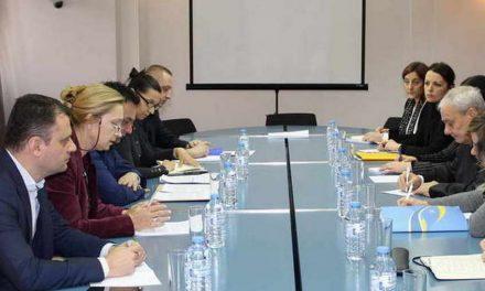 Средба на министерот Сугарески со Генералниот секретар на ЦЕИ, Антонионе