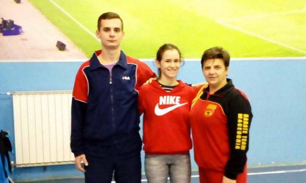 Прилепската каратистка Матеа Талеска, ќе ги брани боите на Македонија на Европското првенство во Данска