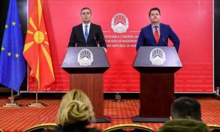 Прес-конференција на портпаролите на Владата, Миле Бошњаковски и Муамет Хоџа (видео)