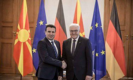Штајнмаер: Дипломатијата на премиерот Заев е прогресивна вредност за целиот свет