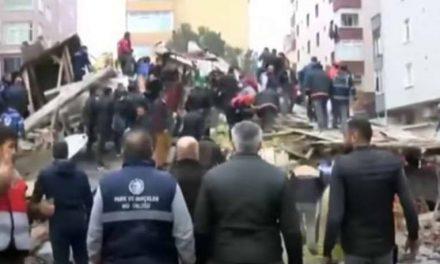 Бројот на жртви во срушената зграда во Истанбул се искачи на 21