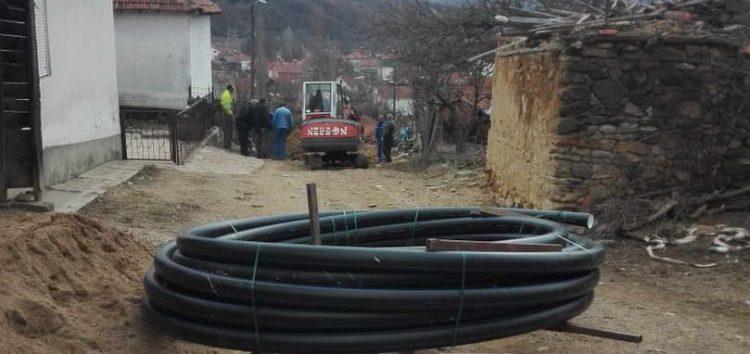 Реконструкција на водоводната линија во делчевско Габрово