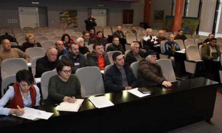 """""""Урбана ревизија"""" – презентација на анкетниот прашалник пред претседателите на урбаните и месните заедници"""