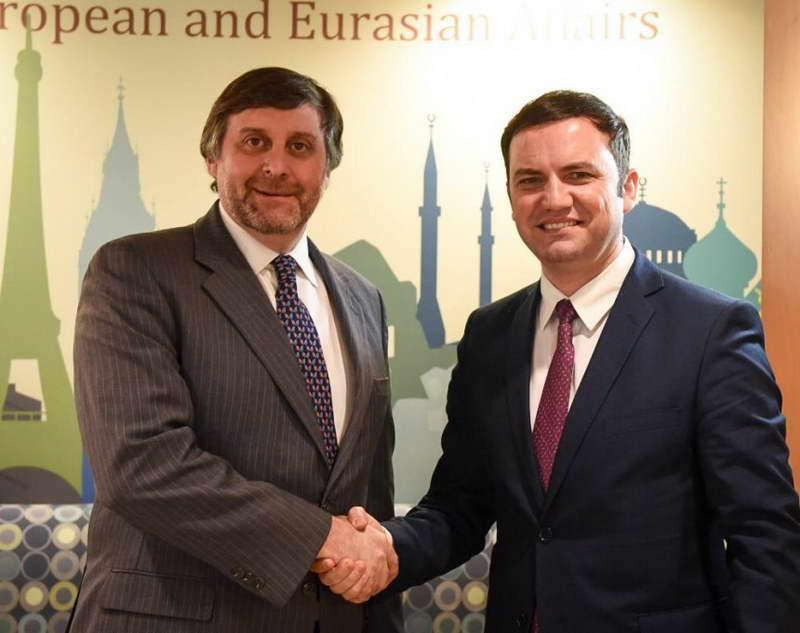 Османи – Палмер: Македонија ја очекува поддршката од САД и во периодот што претстои