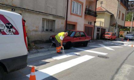 Битола: Ново бележење на пешачките премини