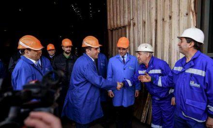 Заев: Комбинатот Еуроникел повторно е успешна приказна со стотина милиони евра нови инвестиции