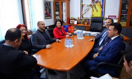 Средба Заев-Димитриевски: Куманово се развива со засилено темпо