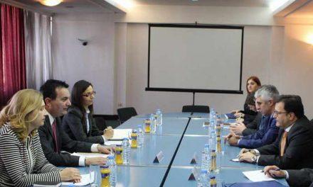 Средба на министерот Горан Сугарески со Јоанис Брахос, генерален секретар на МНР на Грција за меѓународни и економски односи