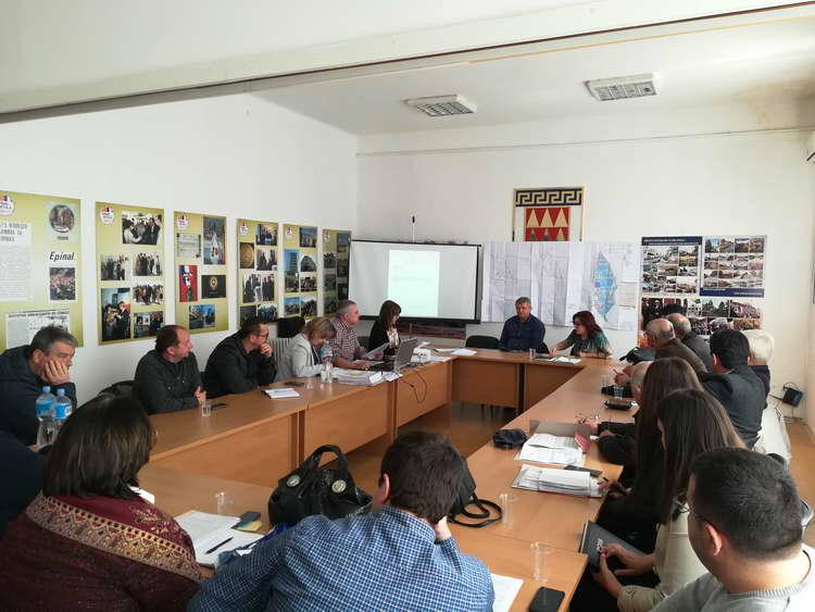 Битола: Градоначалничката Петровска на средба со претставници на стопанствениците