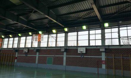 """Реновирани соблекувални и осветлување во битолското ОУ """"Св. Климент Охридски"""""""