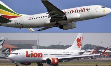 """Постои """"јасна сличност"""" меѓу податоците на урнатите авиони на """"Етиопиан ерлајнс"""" и """"Лајон ер"""""""