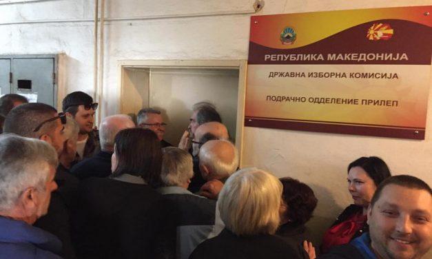 Прилеп: Масовна поддршка за кандидатот за Претседател на државата, Стево Пендаровски