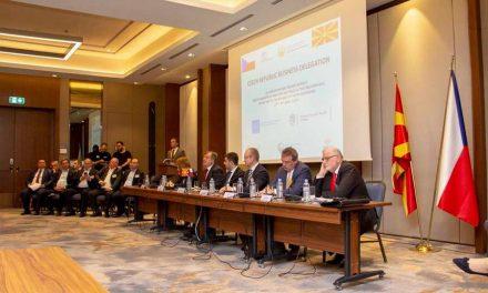 Градоначалникот Христоски дел од бизнис форумот на македонски и чешки стопанственици