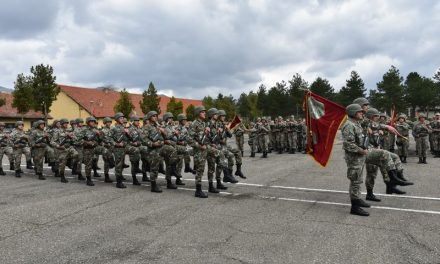 """Во прилепската касарна """"Мирче Ацев"""" одбележан Денот на артилерискиот баталјон"""