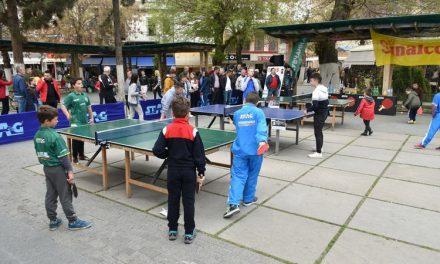 Пингпонгарски настан по повод Меѓународниот ден на спортот за развој и мир