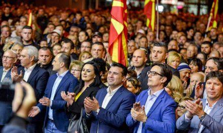 Заев и Пендаровски од Струмица: На Европа и' даваме уште една вредност – европски претседател